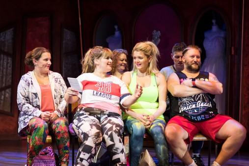 Fat Friends Cast (Photo by Helen Maybanks)