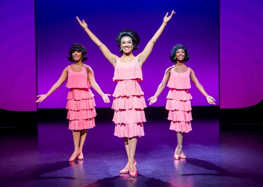 A scene from Motown The Musical, UK Tour @ The Alexandra Theatre, Birmingham. (Opening 11-10-18) ©Tristram Kenton 10-18 (3 Raveley Street, LONDON NW5 2HX TEL 0207 267 5550 Mob 07973 617 355)email: tristram@tristramkenton.com